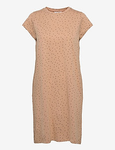 GiSZ Dress - sommerkjoler - praline dot