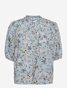 EaSZ Shirt - kortärmade skjortor - celestial paisly dust