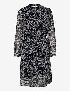 EdilSZ Dress - midi kjoler - blue deep cheetha