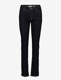 CLASSIC, HIGH W, STRAIGHT LEG - straight jeans - blue rns
