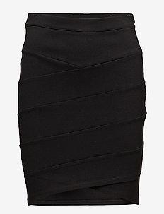 K8500, NellieSZ Skirt - midi kjolar - black