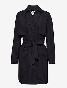 TRENCH COAT - BL DEEP