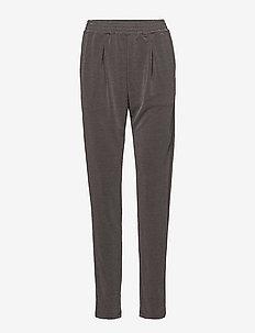 JERSEY PANTS - casual housut - p.grey