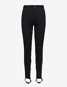 LEGGINGS WITH PIPING - leggings - bl deep