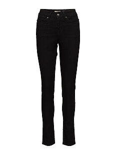FLY,BLK, HIGH WST,SLIM FIT - BLACK