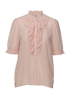 RUFFLE SHIRT - LOTUS