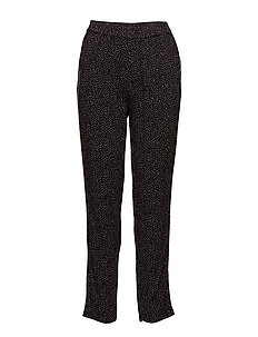 DOT P PANTS - BLACK