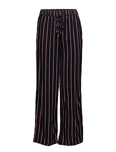 STRIPED PANTS WITH SLITS - BL DEEP