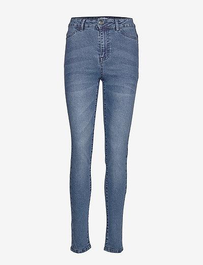 T5757, TinnaSZ Jeans - skinny jeans - med.blue