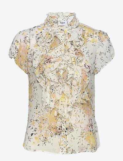 LillySZ SS Shirt - blouses à manches courtes - ice flower firework
