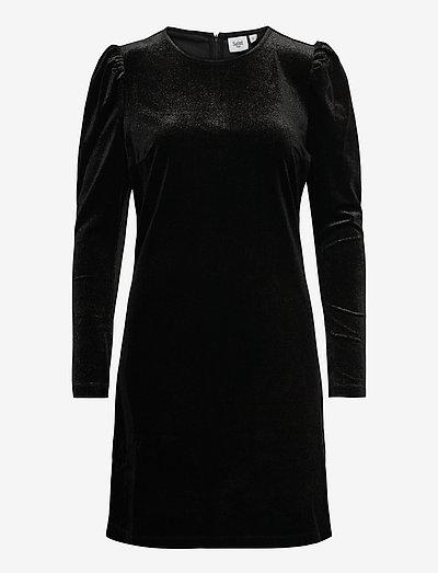 DicteSZ LS Dress - midi kjoler - black