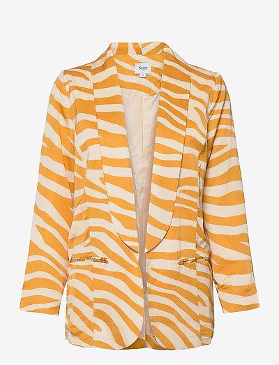 FabianaSZ Blazer - casual blazers - fall leaf zebra