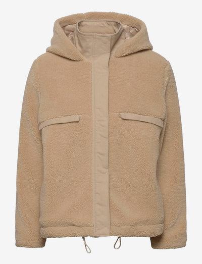 HildaSZ Jacket - uldjakker - light taupe