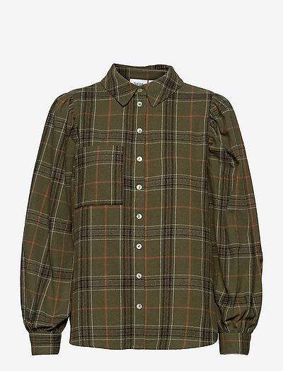 HubbaSZ Shirt - overshirts - army green