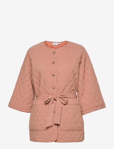 IricaSZ Jacket - quiltede jakker - mocha mousse