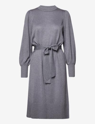 JahanSZ Dress - strikkede kjoler - folkstone gray