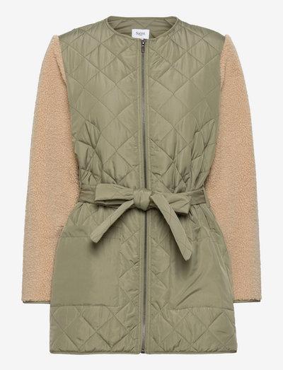HabonSZ Jacket - quilted jakker - musk