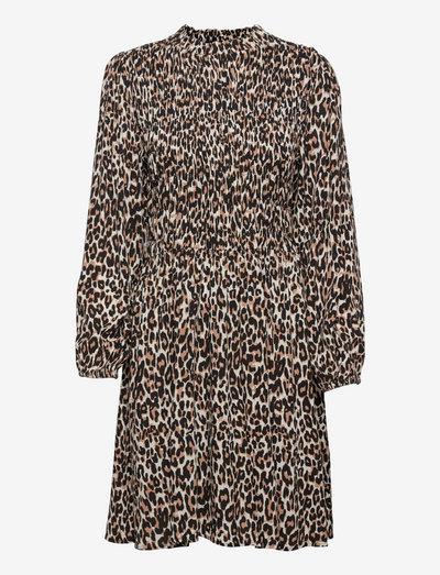 IdalouSZ Dress - sommerkjoler - black raw leo