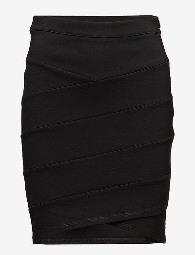 K8500, NellieSZ Skirt - midinederdele - black