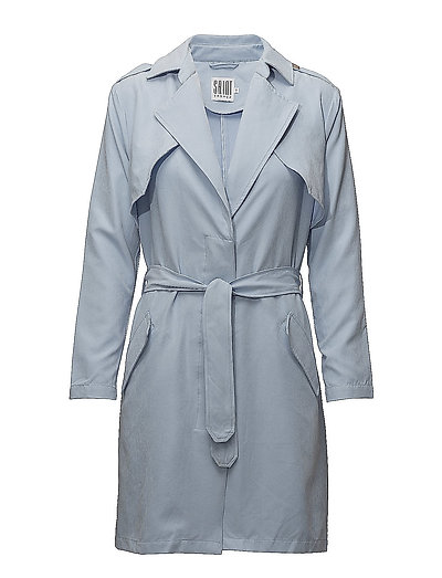 TRENCH COAT - P.BLUE