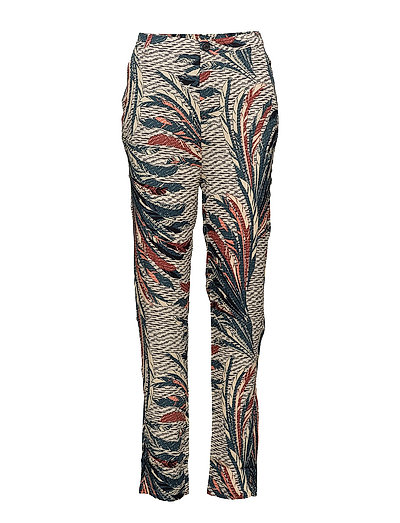 FEATHER PRINTED PANTS - ORION B.