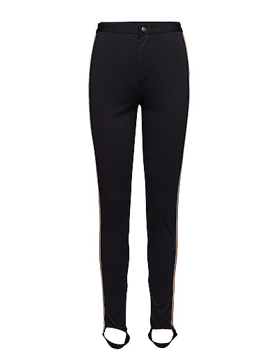 LEGGINGS WITH PIPING - BL DEEP