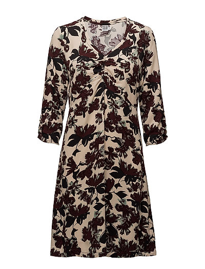 FLORAL PRINTED DRESS - ICE