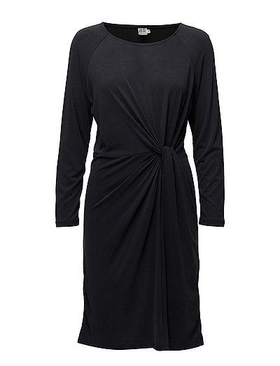 MODAL DRESS W.KNOT - PHANTOM