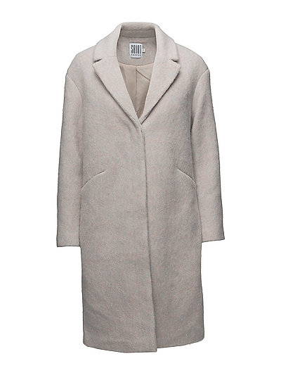 LONG WOOL COAT - A.WHITE