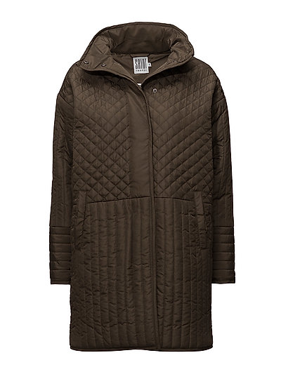 LONG QUILTED JACKET - CANTEEN