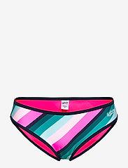 Salming - Rainbow brief - doły strojów kąpielowych - navy/pink - 0