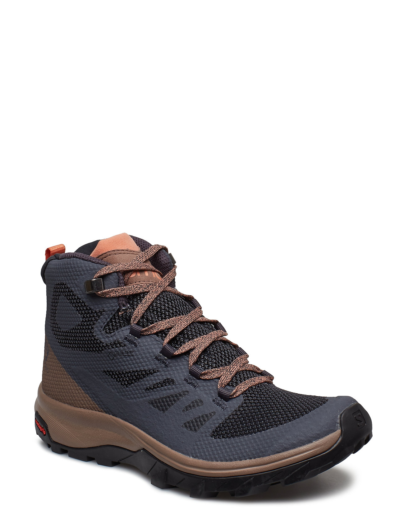 salomon mens outline mid gtx hiking shoes womens