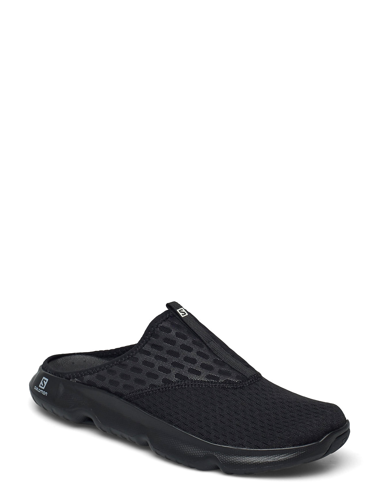 Image of Reelax Slide 5.0 Black/Black/Black Shoes Summer Shoes Sandals Sort Salomon (3514017057)