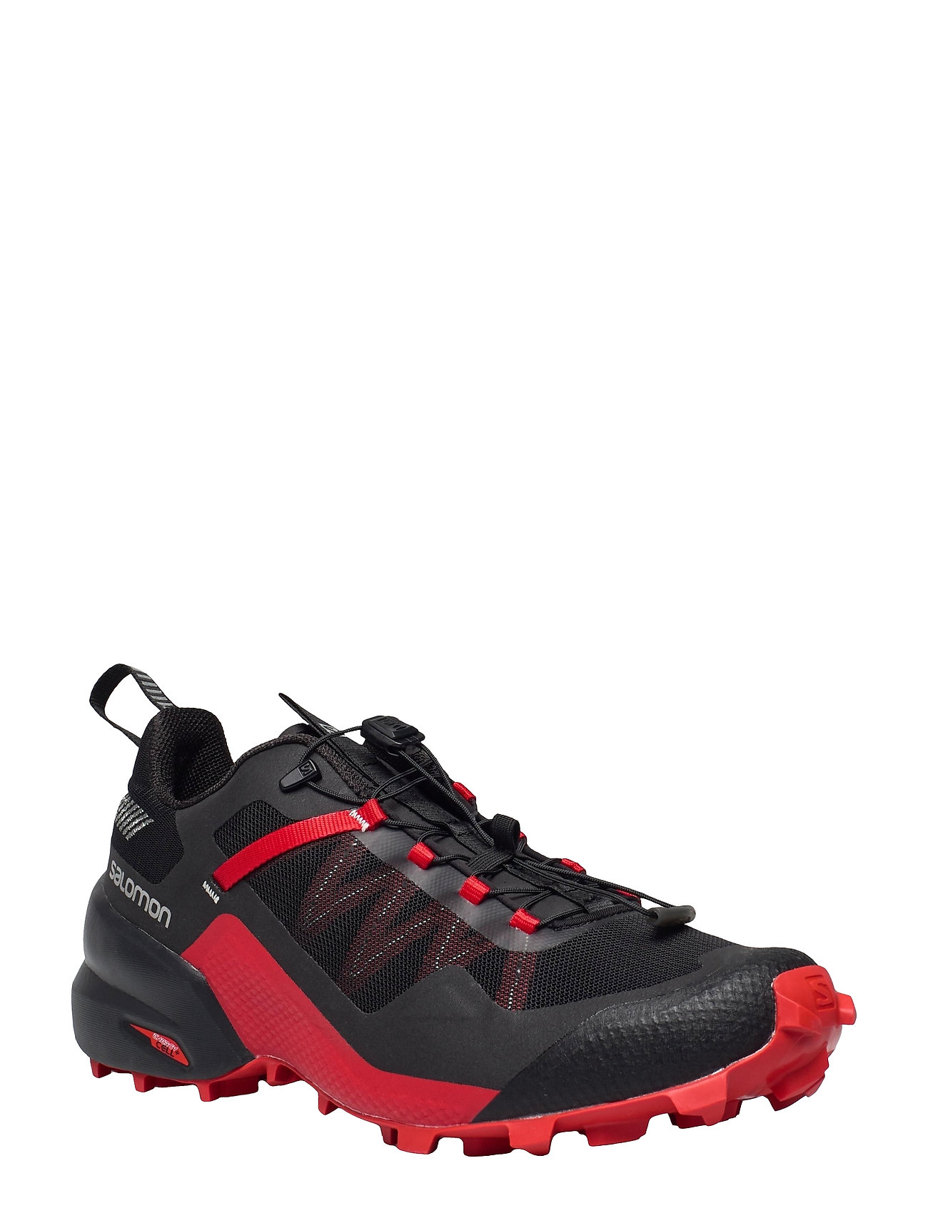 Image of City Cross Black/Black/Goji Berry Low-top Sneakers Rød Salomon (3523883459)