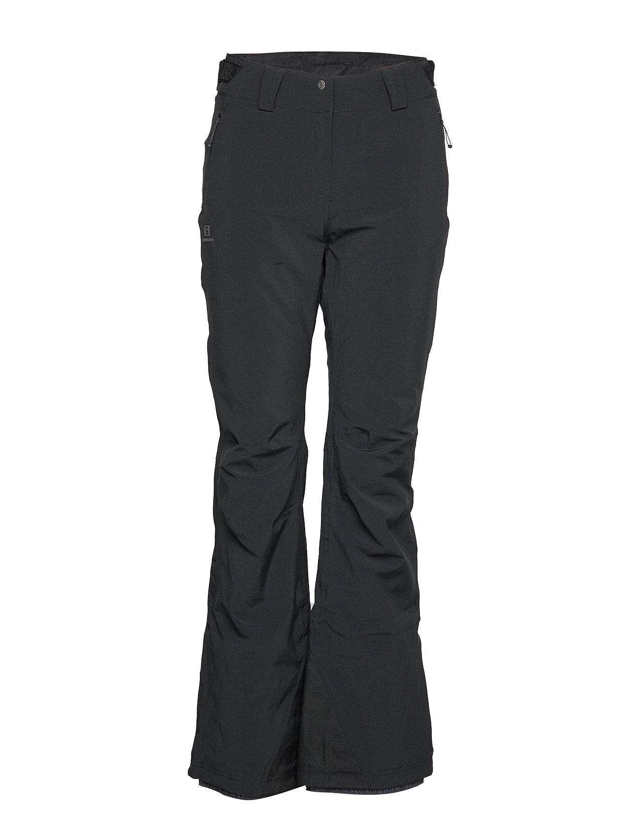 Image of Icemania Pant W Sport Pants Sort Salomon (3236599247)