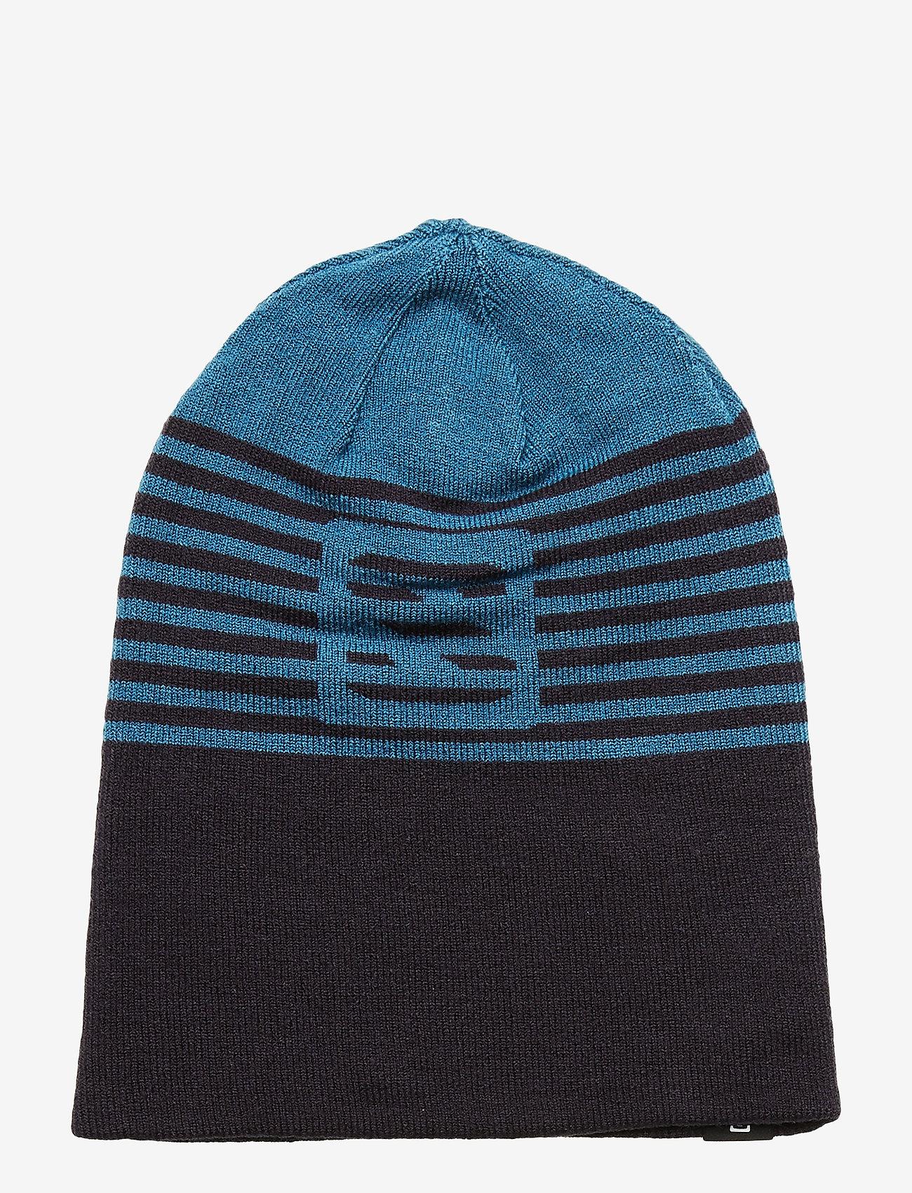 Salomon FLATSPIN REVERSIBLE BEANI - Czapki i kapelusze LYONS BLUE - Akcesoria