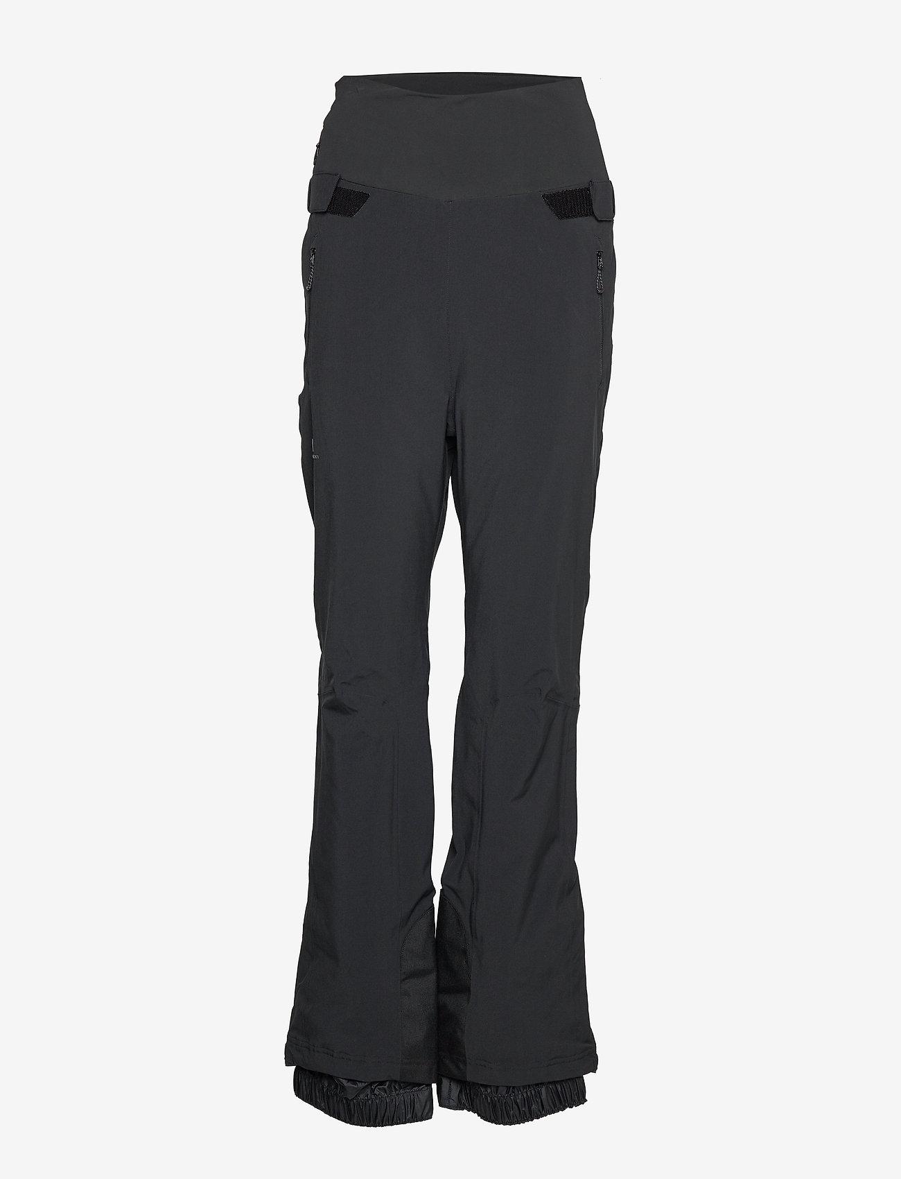 Salomon - ICEFANCY PANT W - spodnie narciarskie - black - 0