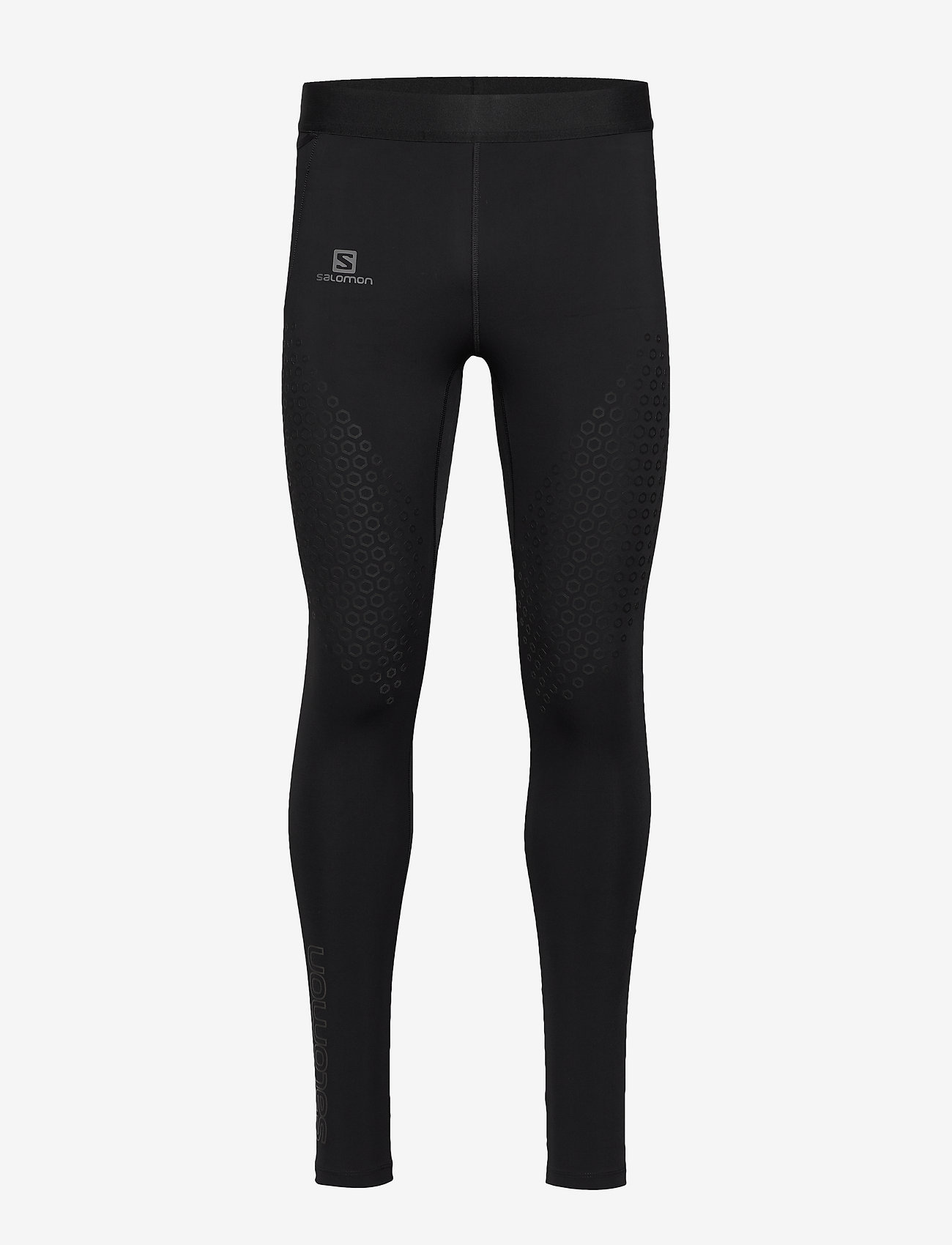 Salomon - EXO MOTION LONG TIGHT M - running & training tights - black - 0