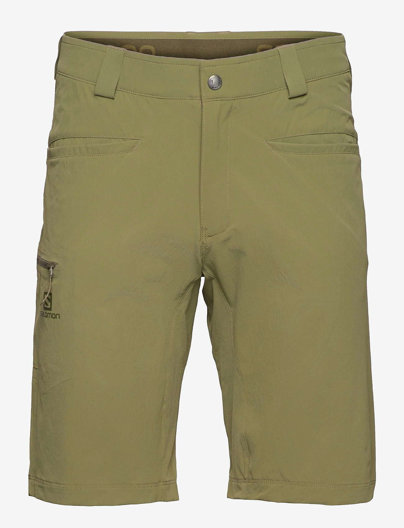 Salomon - WAYFARER SHORTS M Martini Olive - casual shorts - martini olive - 0