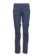 WAYFARER ZIP PANT W - CROWN BLUE