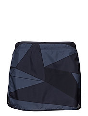 AGILE SKORT W - NIGHT SKY/GRAPHITE/CROWN BLUE
