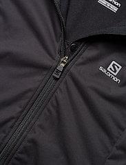 Salomon - LIGHTNING LIGHTSHELL JKT W - sports jackets - black - 3
