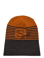 FLATSPIN REVERSIBLE BEANIE - TAN