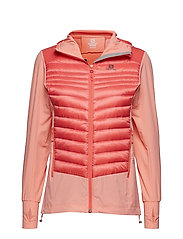 HALOES DOWN HYBRID HOODIE - DESERT FLOWER/DUBARRY