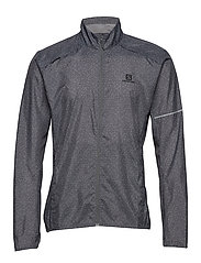 AGILE WIND JKT M Quiet Shade/Graphite/Bk - QUIET SHADE/GRAPHITE/BLACK