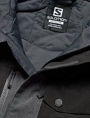 Salomon - POWDERSTASH JACKET M - ski jassen - grey - 4