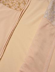 Salomon - AGILE FZ HOODIE W ALMOND CREAM/AO - training jackets - almond cream/ao - 4