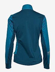 Salomon - LIGHTNING LIGHTSHELL JKT W - sports jackets - deep lagoon - 1