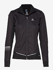 Salomon - LIGHTNING LIGHTSHELL JKT W - sports jackets - black - 0