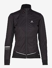 Salomon - LIGHTNING LIGHTSHELL JKT W - sports jackets - black - 1